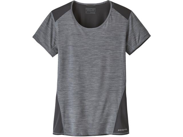 Patagonia Airchaser T-shirt Dame smolder blue